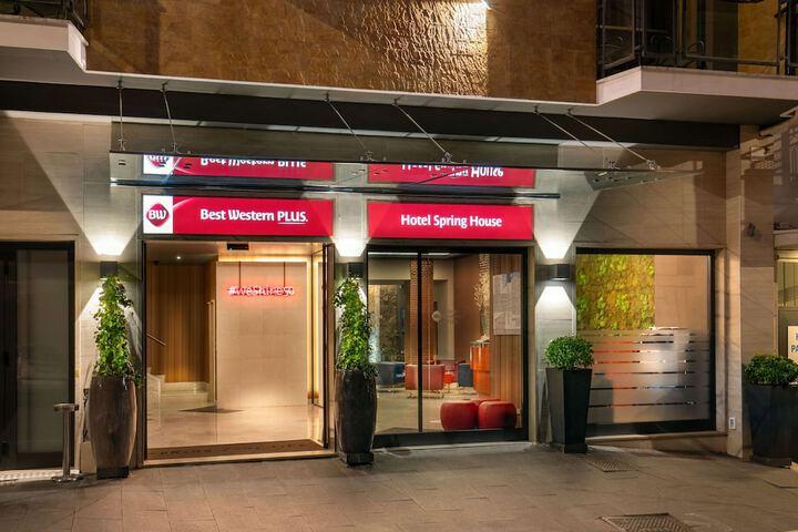 Best Western Plus Hotel Spring House Roma Via Mocenigo 7 00192