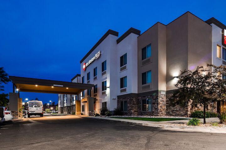 Best Western Plus Airport Inn Suites Salt Lake City Ut 5433 West Wiley Post Way 84116